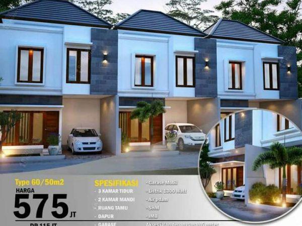 """Dijual rumah indent lt.2 """"Puri Tunggul Ametung""""-1baliproperty-id1bp117"""