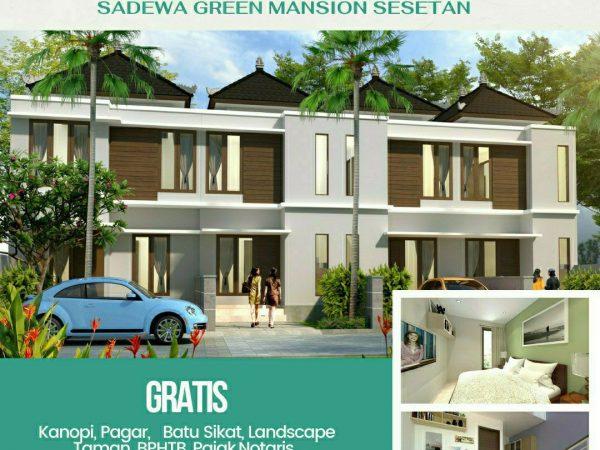 Dijual rumah lt.2 type 60/50 di Sesetan only 700jtan -1baliproperty-id1bp114