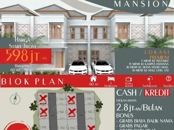 Dijual rumah baru murah lt2 di Padangsambian -1baliproperty-id1bp118
